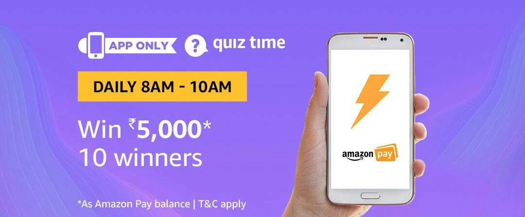 Amazon Quiz Time Answer (30 July)