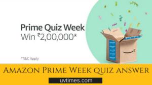 amazon prime quiz