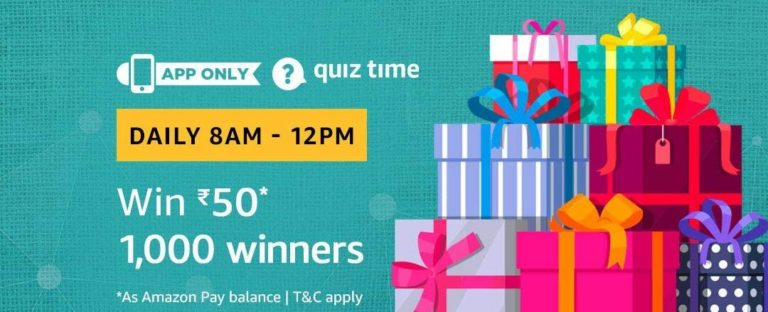 Amazon Quiz Time Answer 24 September