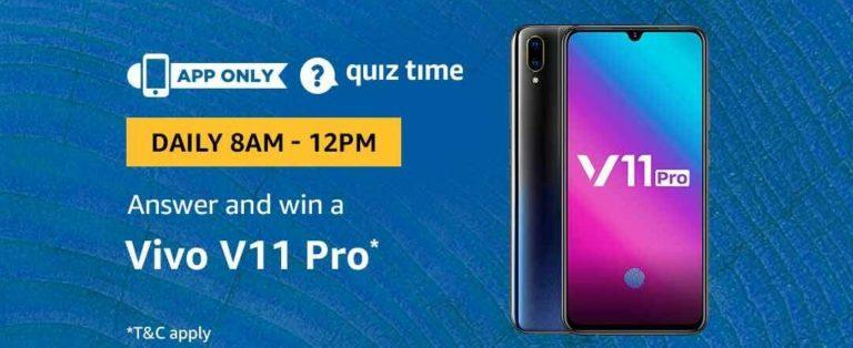 amazon-vivo-v11-pro-quiz-