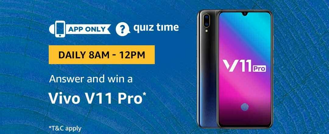 amazon-vivo-v11-pro-quiz-