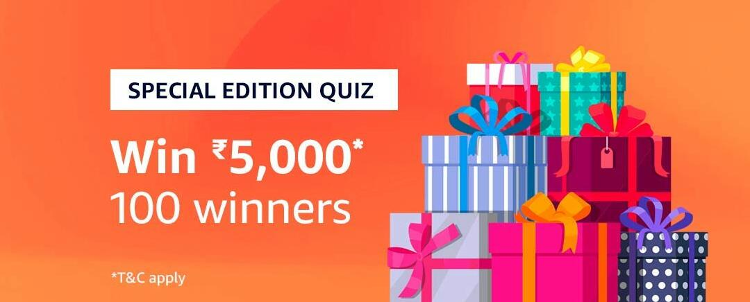Hello Everyone All of you are welcome Amazon Quiz Time Answer 24 December and today we have brought for you Amazon Quiz Time Answer 24 December