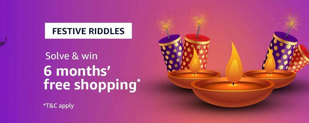 Amazon Festival Riddle Quiz Answer 6 November