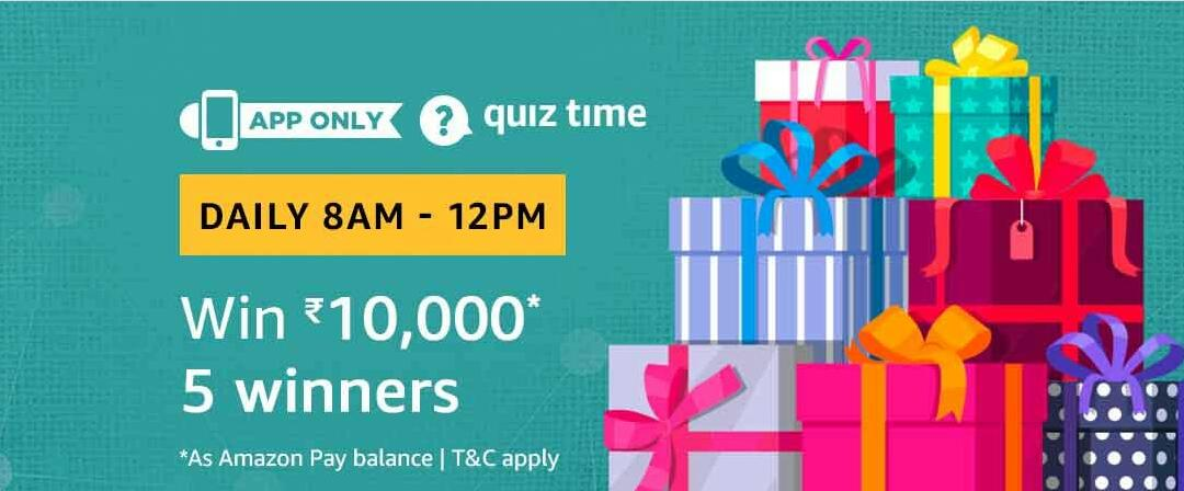 Amazon Quiz Time Answer 25 March