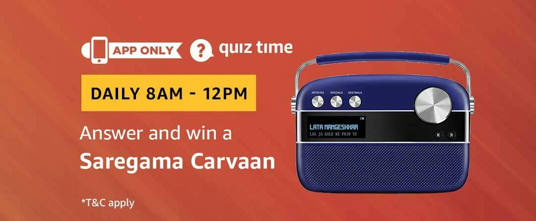Amazon Saregama Carvaan Quiz Answer 9 February