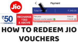 how to redeem jio voucher