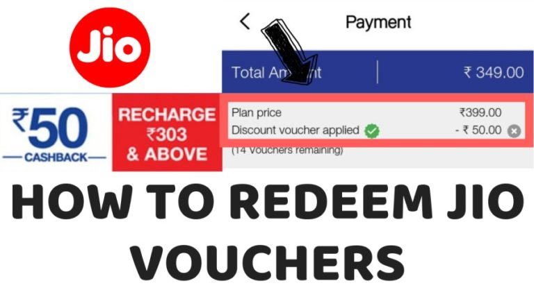 how to redeem jio voucher
