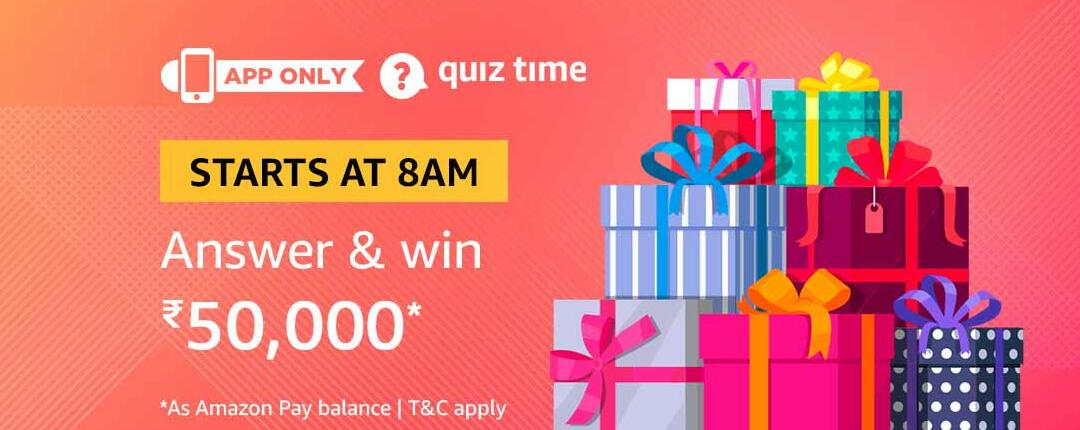 Amazon Quiz Time Answer 29 March