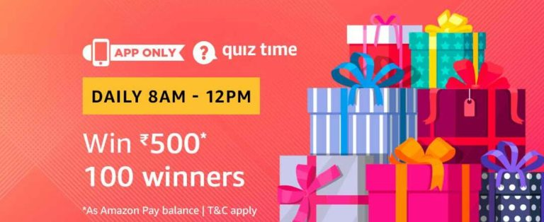 Amazon Quiz Time Answer 18 March