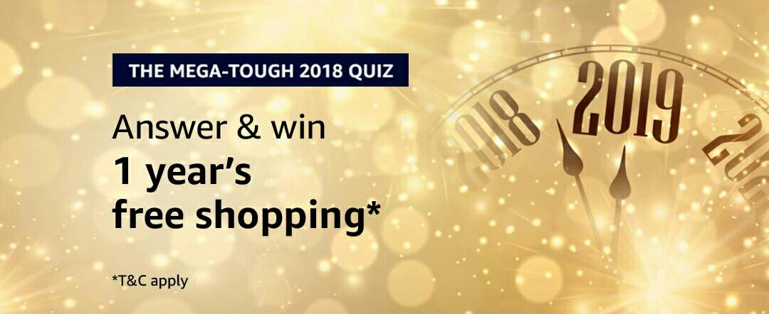 Amazon The Mega Tough 2018 Quiz Answer