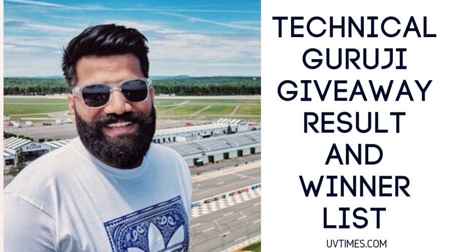 Technical Guruji Giveaway