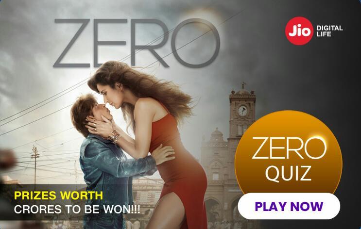 jio zero quiz