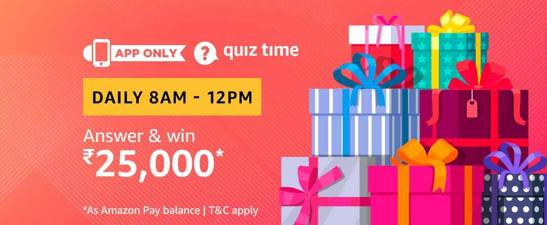 Amazon Quiz Time Answer 22 March