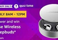 Amazon Bose Wireless Sleepbuds Quiz Answer 2 March