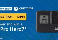 Amazon GoPro Hero 7 Quiz Answer 19 February