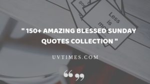 Blessed Sunday Quotes